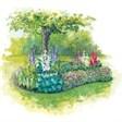 Гостевой дом на озере - иконка «сад» в Глушково